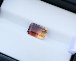 2.10 Ct Natural Bi Color Transparent Tourmaline Gemstone