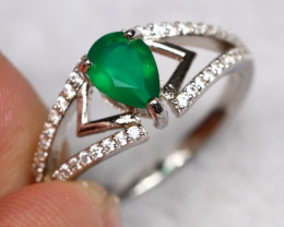 11.42cts 925 Sterling Silver Ring / 503