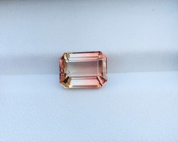 3.40 Ct Natural Bi Color VVS Tourmaline Ring Size Gemstone