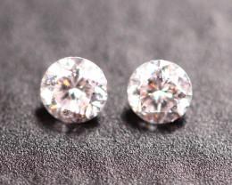 2.00-2.10mm Untreated Light Pink Diamond A0802