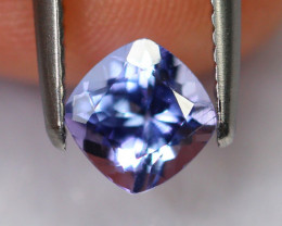 1.09cts Natural Violet Blue Tanzanite / DE290
