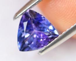 1.27cts Natural Violet Blue Tanzanite / DE291