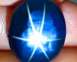 18.56 Carat Blue Southeast Asian Star Sapphire - Gorgeous