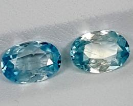 3.45Crt Blue Zircon Best Grade Gemstones JI14
