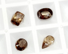 2.75Crt Rare Axinite lot Best Grade Gemstones JI14