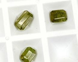 2.65Crt Rare Demontiod Garnet lot Best Grade Gemstones JI14