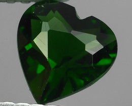 ~ALLURING TOP GREEN PARTY COLOR CHORME TOURMALINE HEART~