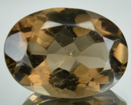 Ravishing Natural Smoky Quartz Oval 18 X 13mm 12.91 cts