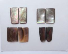 Beautiful Shell ,Handmade Gemstone ,Ocean Pendant ,Lucky Stone B617