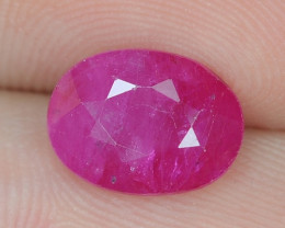 2.46 Cts Amazing Rare Natural Pinkish Red Ruby Loose Gemstone