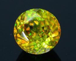 Rare AAA Fire 1.02 ct Chrome Green Sphene Sku-33