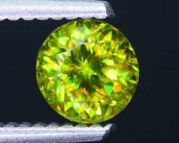 Rare AAA Fire 1.01 ct Chrome Green Sphene Sku-33