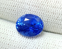 CERTIFIED 4.16 CTS NATURAL STUNNING CORNFLOWER BLUE SAPPHIRE FROM SRI LANKA