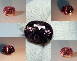UNHEATED CERTIFIED 4.43 CTS NATURAL BEAUTIFUL COLOR CHANGE SAPPHIRE CEYLON