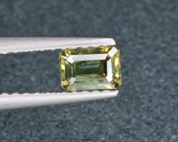 Natural Demantoid Garnet 0.50 Cts, Full Sparkle Faceted Gemstone