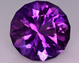 Great Color 45 Ct Natural Amethyst From Uruguay
