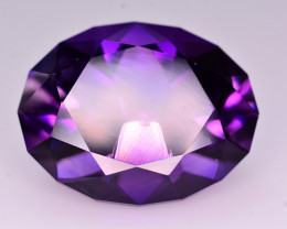 Great Color 36.65 ct Natural amethyst From Uruguay