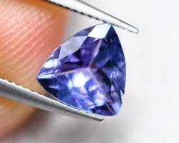 0.97cts Natural Violet Blue Tanzanite / DE281