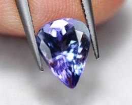 1.15cts Natural Violet Blue Tanzanite / DE285