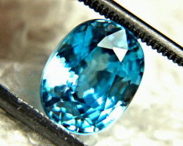 5.12 Carat Swiss Blue VVS Zircon - Gorgeous