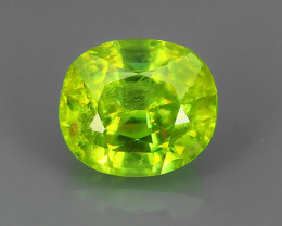 1.30 CTS~EXCELLENT NATURAL GREENISH SPHENE OVAL~ NR!!