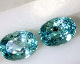 2.30CTS  PARAIBA  FACETED PAIR TBM-1634
