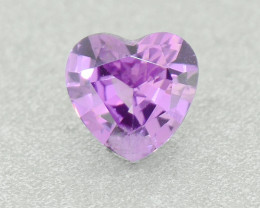 N/R Natural Pink Sapphire Heart UNHEATED 0.51ct (01358)