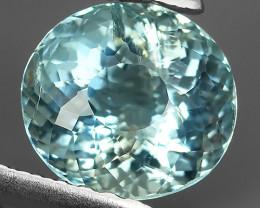 1.56 Cts Nice Quality Natural Blue Colour Aquamarine  Untreated Oval Shape