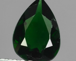 ~EXCELLENT NATURAL TOP GREEN CHROME TOURMALINE PEAR~ NR!!