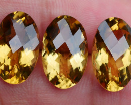 18.35 CRT BEAUTY HONEY QUARTZ FACETED-