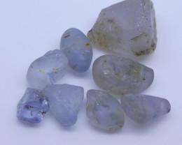 15.20 cts Rough Unheated Grey Blue Sapphire from Sri Lanka / Ceylon