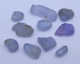 15.17 cts Rough Unheated Grey Blue Sapphire from Sri Lanka / Ceylon