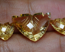 10.90 CRT GOLDEN YELLOW CITRINE-