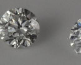 1.28 - 1.47 mm  VS2/D-F 0.08 ct Diamond GPC Lab Real description