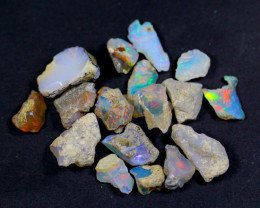 44.5Cts Ethiopian Welo Rough Opal Parcel Lot