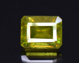 NR - 1.50 Carats AAA Grade Color Full Fire Sphene Titanite Gemstone