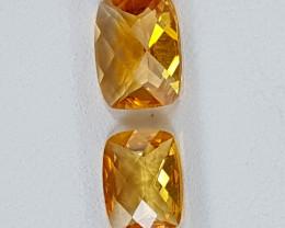 2.50Crt Madeira Citrine  Best Grade Gemstones JI15
