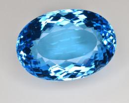 Natural Blue Topaz 50.85 Cts Top Clean Gemstone