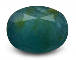 2.79 ct Oval  Grandidierite-$1 NR Auction, Free Ship