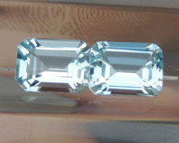 8x6mm Aquamarine Octagon