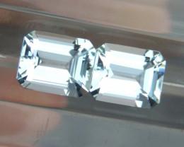10x8mm Aquamarine Octgagon