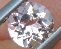 5mm Round Morganite Pink