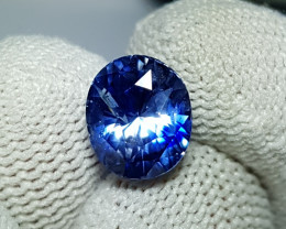 LOTUS CERTIFIED 4.25 CTS UNHEATED STUNNING BLUE SAPPHIRE SRI LANKA