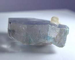 147.90 CT Natural & Unheated Blue Aquamarine Crystal