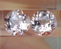 7.00mm Round Morganite Pink