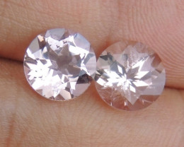 8mm Round Morganite Pink