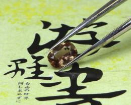 0.51ct Brown Sapphire Cushion Cut - NR Auctions