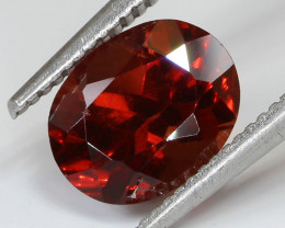 2.09ct Red Almandine Garnet Oval Cut - NR Auctions