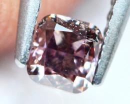 Untreated Pink Diamond 0.155Ct Rare & Exclusive  E1105