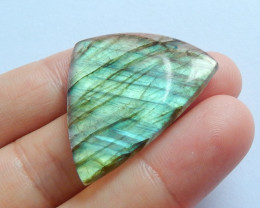 Beautiful Labradorite Cabochon ,Handmade Gemstone ,Lucky Stone B638